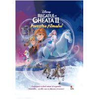 CDDC16_001w Carte Editura Litera, Disney. Regatul de gheata II. Povestea filmului, Disney clasic