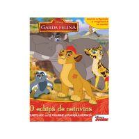 CDJ48_001w Carte joc cu 12 figurine si plansa ilustrata Editura Litera, Disney, Garda felina, O echipa de neinvins