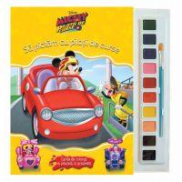 CDJ55_001 Carticica de colorat Mickey si pilotii de curse, Disney