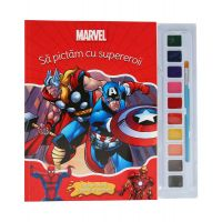 CDJ57_001 Carticica de colorat Avengers, Marvel