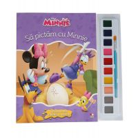 CDJ59_001 Carticica de colorat Minnie, Disney