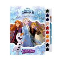 CDJ72_001 Carte Disney Frozen 2 - Sa pictam noi aventuri cu Anna si Elsa (format mare)