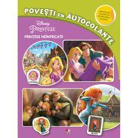 CDJCA100_001w Carte Editura Litera, Disney. Printese neinfricate. Povesti cu autocolante
