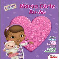 CDJCA28_001w Carte Editura Litera, Disney. Doctorita Plusica. Marea carte au-au