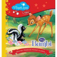 CDPOV09_001w Carte Editura Litera, Disney. Bambi. Noapte buna, copii! Cele mai frumoase povesti clasice