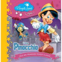 CDPOV11_001w Carte Editura Litera, Disney. Pinocchio. Noapte buna, copii! Cele mai frumoase povesti clasice
