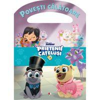 Carte Editura Litera, Disney, Prietenii catelusi, Povesti calatoare