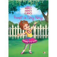 CDPOV54_001w Carte Editura Litera, Disney. Fancy Nancy Clancy. Povesti cu Fancy Nancy