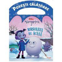 CDPOV57_001w Carte Editura Litera, Disney, Vampirina, Ninsoarea de acasa
