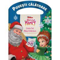 CDPOV58_001w Carte Editura Litera, Disney, Fancy Nancy, Lista lui Mos Craciun