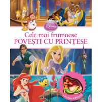 CDPPOV01_001w Carte Editura Litera, Disney. Cele mai frumoase povesti cu printese + jucarie cadou