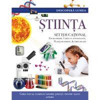 CEDIV104_001w Carte Editura Litera, Descopera Lumea, Stiinta