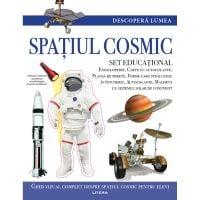 CEDIV105_001w Carte Editura Litera, Descopera Lumea, Spatiul cosmic