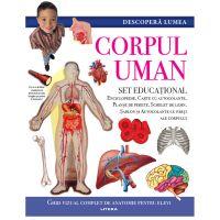 CEDIV107_001w Carte Editura Litera, Descopera Lumea, Corpul uman