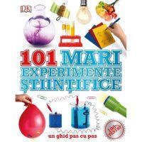 CEDIV40_001w Carte Editura Litera, 101 mari experimente stiintifice