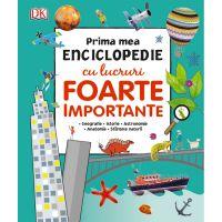 CEDIV51_001w Carte Editura Litera, Prima mea enciclopedie cu lucruri foarte importante