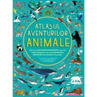 CEDIV95 Carte Editura Litera, Atlasul aventurilor. Animale