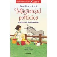 CEDUS17_001w Carte Editura Litera, Povesti de la ferma, Magarusul pofticios