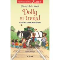 CEDUS18_001w Carte Editura Litera, Povesti de la ferma, Dolly si trenul