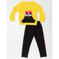 20204106 Set bluza si pantaloni sport Mr Eyebrow Denokids
