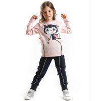 20204107 Set bluza si pantaloni sport Kitty Denokids