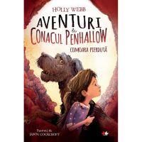 CFS70_001w Carte Editura Litera, Aventuri la conacul Penhallow. Comoara pierduta, Holly Webb