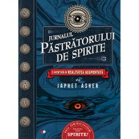 CFS80_001w Carte Editura Litera, Jurnalul pastratorului de spirite, Japhet Asher