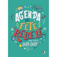 CFS88_001w Carte Editura Litera, Agenda unei fete rebele. Anul scolar 2019-2020