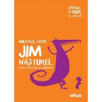 CJIMNAUR_001w Carte Editura Arthur, Jim nasturel si Lukas, mecanicul de locomotiva (Cartile de Aur 6), Michael Ende