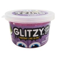 CK110283 Gelatina Compound Kings - Glitzy Slime, Purple, 80 g