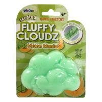 CK300000 Slime parfumat cu surpriza Compound Kings - Fluffy Cloudz, Melon