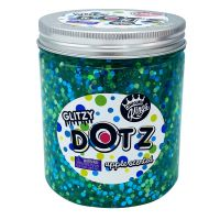 CK300129 Gelatina Compound Kings - Glitzy Dotz Slime, Apple, 425 g