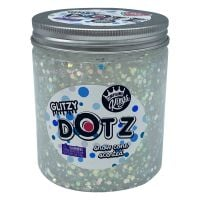 CK300129 Gelatina Compound Kings - Glitzy Dotz Slime, Snow Cone, 425 g