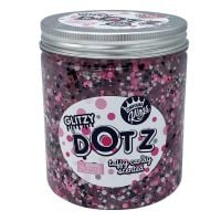 CK300129 Gelatina Compound Kings - Glitzy Dotz Slime, Taffy Candy, 425 g