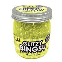 CK300942 galben Slime parfumat, Compound Kings, Glitzy Bingsu Jar Asst, 220g