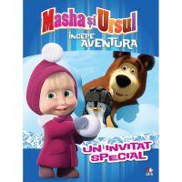 CMASAD04_001w Carte Editura Litera, Masha si Ursul. Incepe aventura. Un invitat special