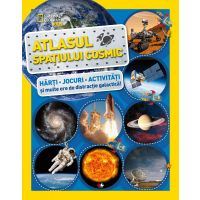 CNG63_001w Atlasul spatiului cosmic, National Geographic - Editura Litera