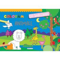 EG1218_001 Coloram cu sabloane - Animale