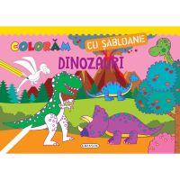 EG1201_001 Coloram cu sabloane - Dinozauri