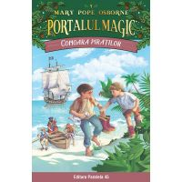 Comoara piratilor. Portalul magic nr. 4, Mary Pope Osborne