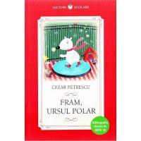 CPB128_001w Carte Editura Litera, Fram, ursul polar, Cezar Petrescu
