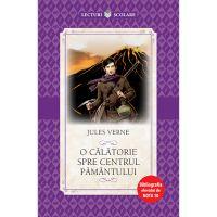 CPB192_001w Carte Editura Litera, O calatorie spre centrul pamantului, Jules Verne