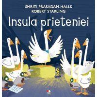 CPB235_001w Carte Editura Litera, Insula prieteniei, Smriti Prasadam-Halls
