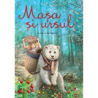 CPB237_001w Carte Editura Litera, Masha si Ursul. Ilustratii de Ana Grigoriev