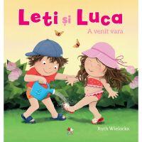 CPB249_001w Carte Editura Litera, Leti si Luca. A venit vara, Ruth Wielockx