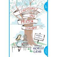 CPBIMAGIN_001w Carte Editura Arthur, Confesiunile unui prieten imaginar, Michelle Cuevas