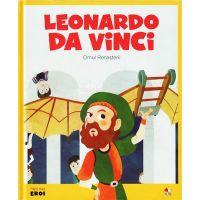 CPBME01_001w Carte Editura Litera, Micii eroi. Leonardo da Vinci