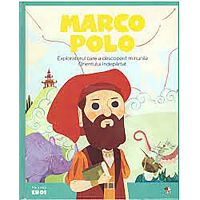 CPBME05_001w Carte Editura Litera, Micii eroi. Marco Polo