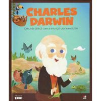 CPBME11_001w Carte Editura Litera, Micii Eroi, Charles Darwin