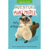 CPBPML122_001w Carte Editura Litera, Aventuri la Miau Motel. Arli artagoasa, Shelley Swanson Sateren